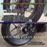 Semir ban mobil kinclong dan hitam